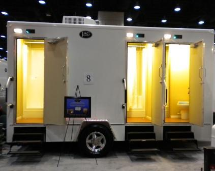 Coney Island Mobile Restroom Trailer Rentals & Shower Trailers in New York.